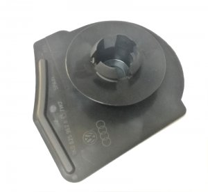 Floor pan plug bung