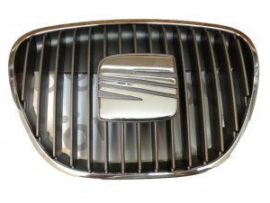 Front center grille chrome Seat Cordoba 03-09/Ibiza 02-10