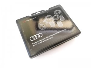 Audi wheel locks