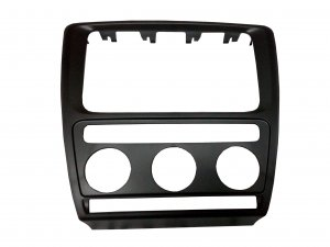 Frame for the air cconditioning and navigation switch box Skoda Octavia II