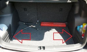 Luggage compartment set Skoda Fabia II Combi
