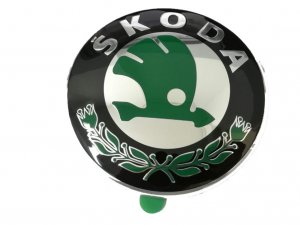 Front badge emblem Skoda Fabia Octavia Yeti Superb Rapid Roomster