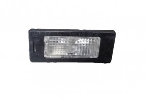 Rear licence plate light