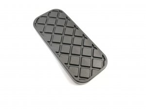 Acceleration pedal black cover cap