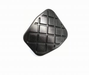 Clutch pedal black cover cap