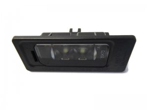 Rear license plate light LED