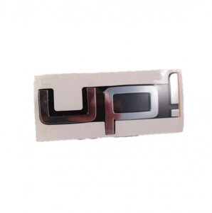 Chrome logo inscription VW Up! 2012-