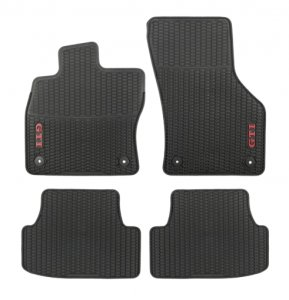 All season rubber floor mats set VW Golf VII GTI