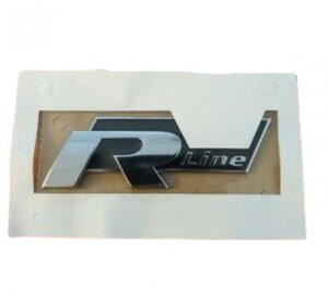 Emblem sticker badge logo R-line VW