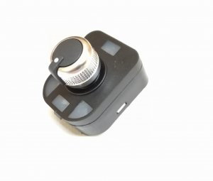 Mirror switch knob rorare joystick chrome Audi