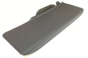 Food rest dead pedal pad cover trim